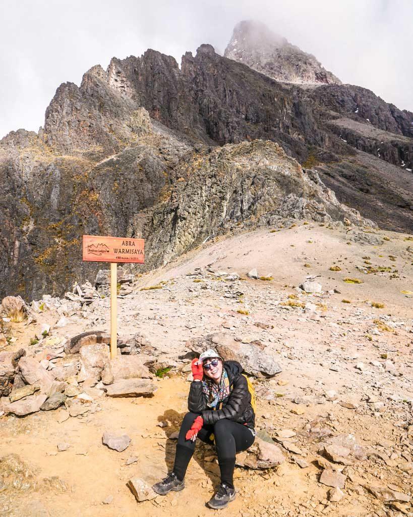 mountain pass ausangate
