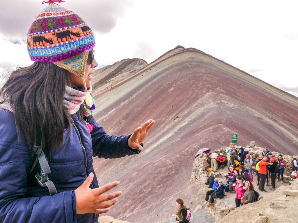 tour guide rainbow mountain