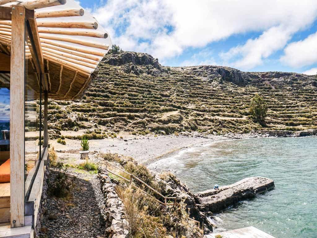 lake titicaca hotel amantani island