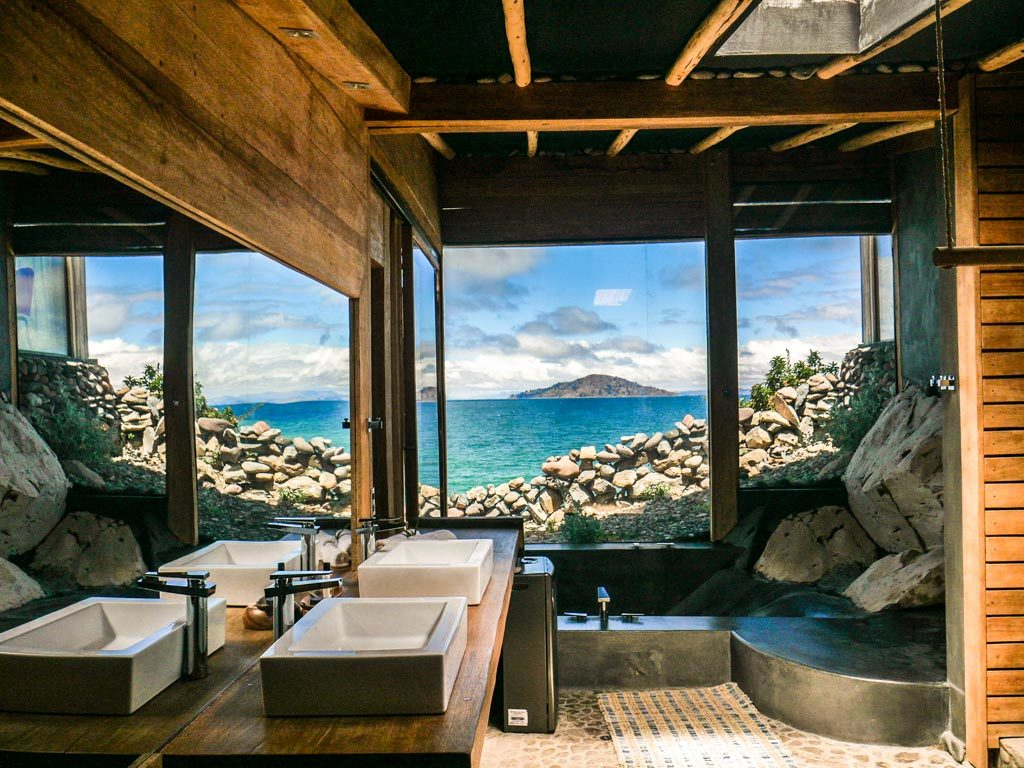 lake titicaca hotel bathroom luxury