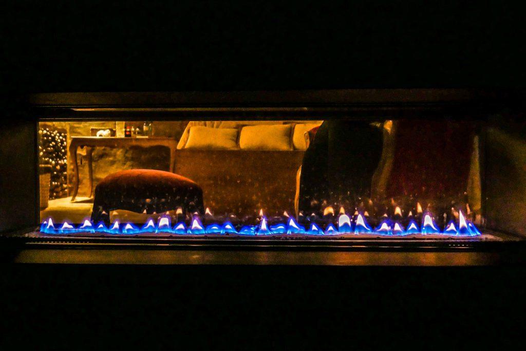 fireplace lake titicaca hotel