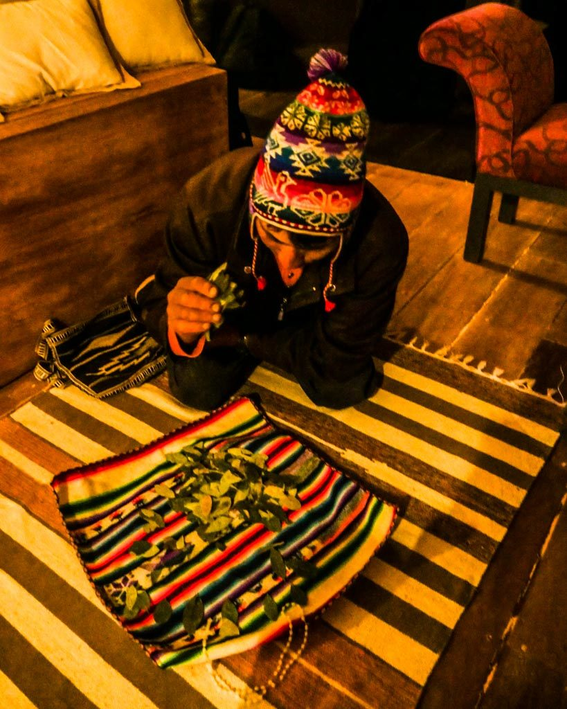 shaman amantani tour lake titicaca