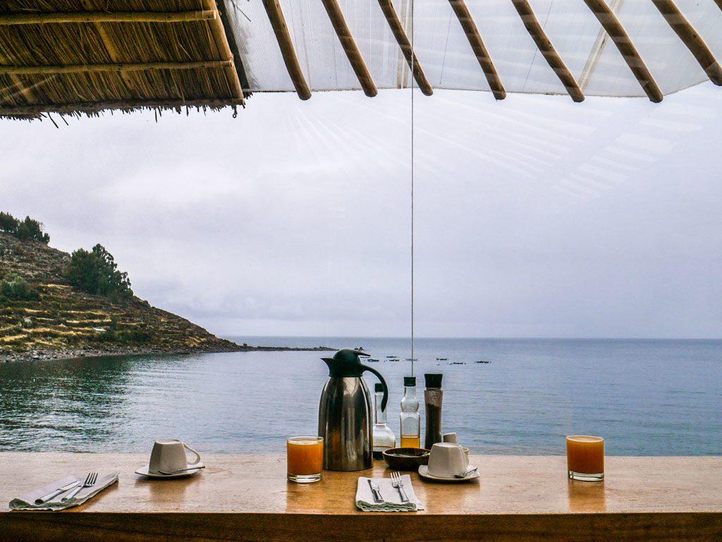 lake titicaca breakfast