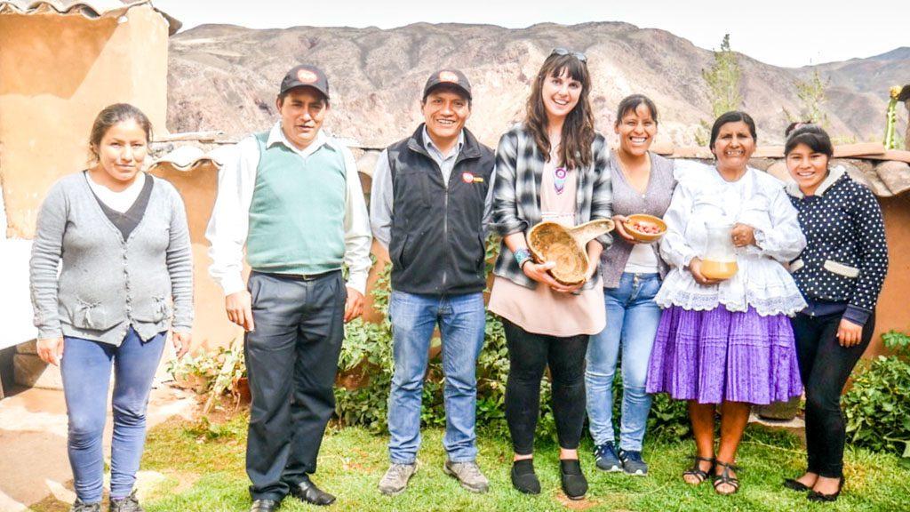 chicha family makichay urubamba peru