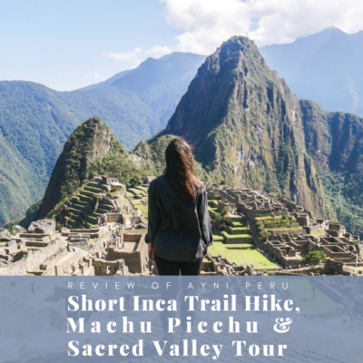short inca trail hike machu picchu ayni tours thumbnail