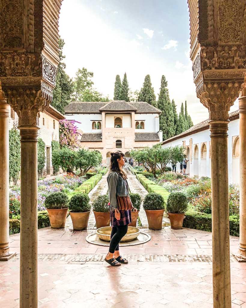alhambra the generalife