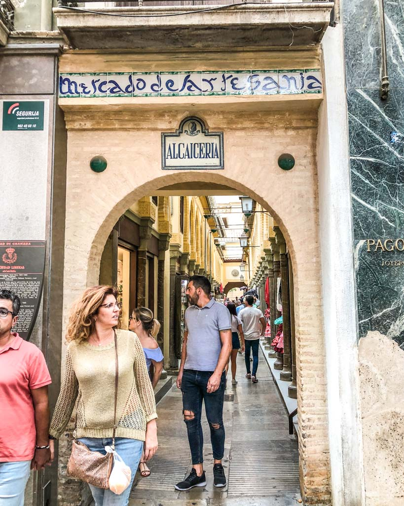 artisan market granada city guide