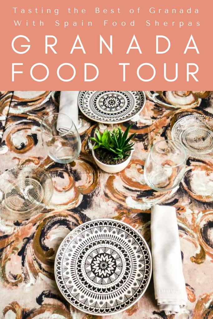 granada food tour spain food sherpas pinterest
