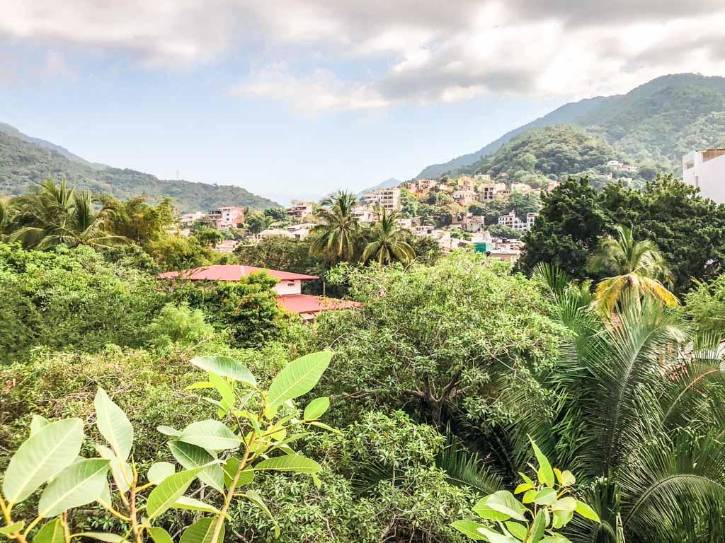 view from gringo gulch puerto vallarta