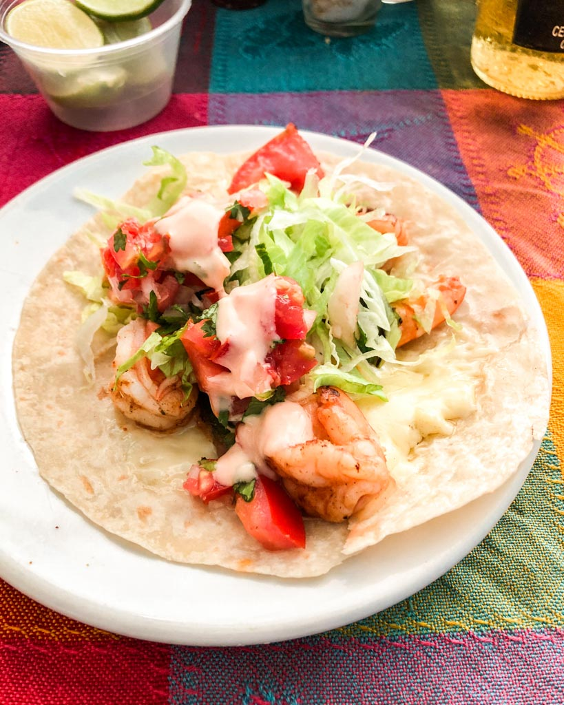 best tacos in puerto vallarta camaron shrimp
