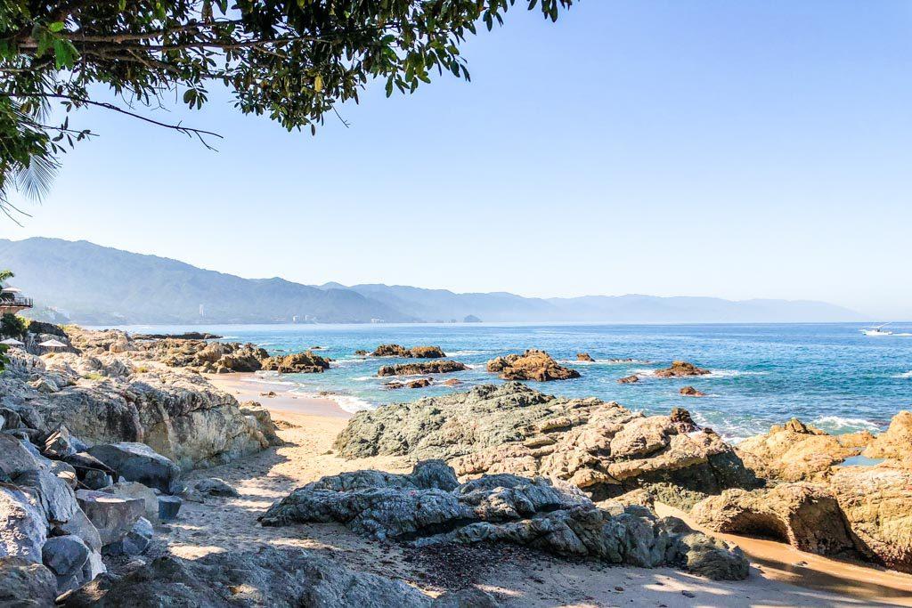 conchas chinas puerto vallarta beach