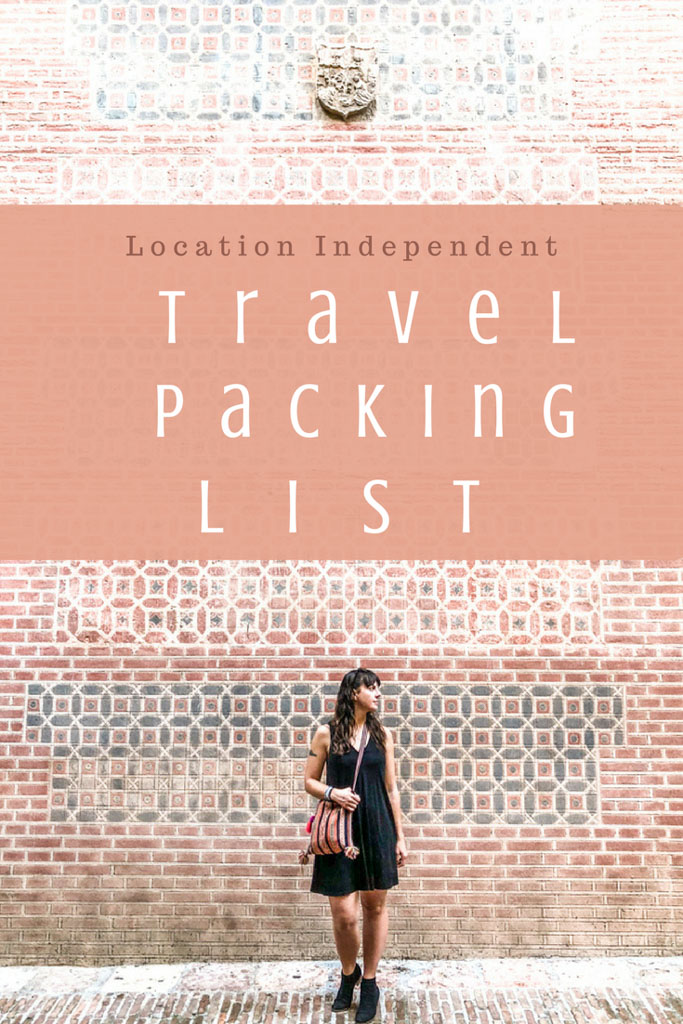 location independent packing list pin