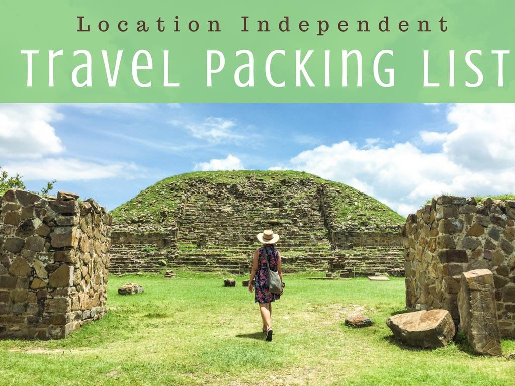 location independent packing list