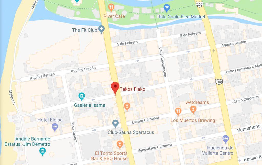 takos flakos puerto vallarta old town tacos