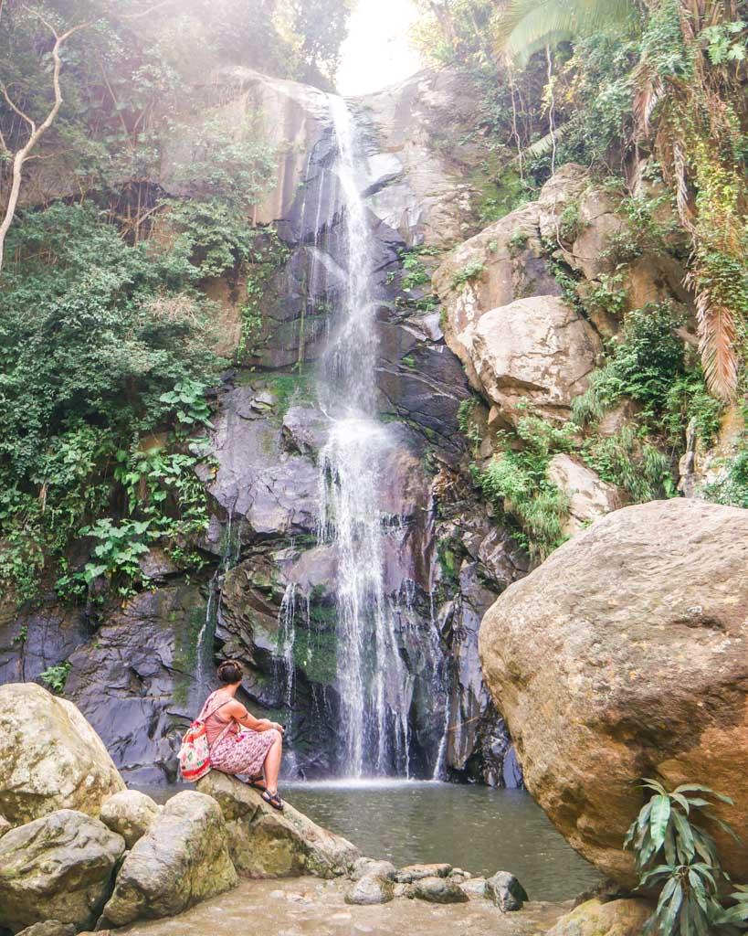 waterfall instagram puerto vallarta beach
