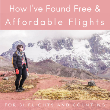 How I've Found Free Flights (+ Affordable Flights) For 31 Flights and Counting