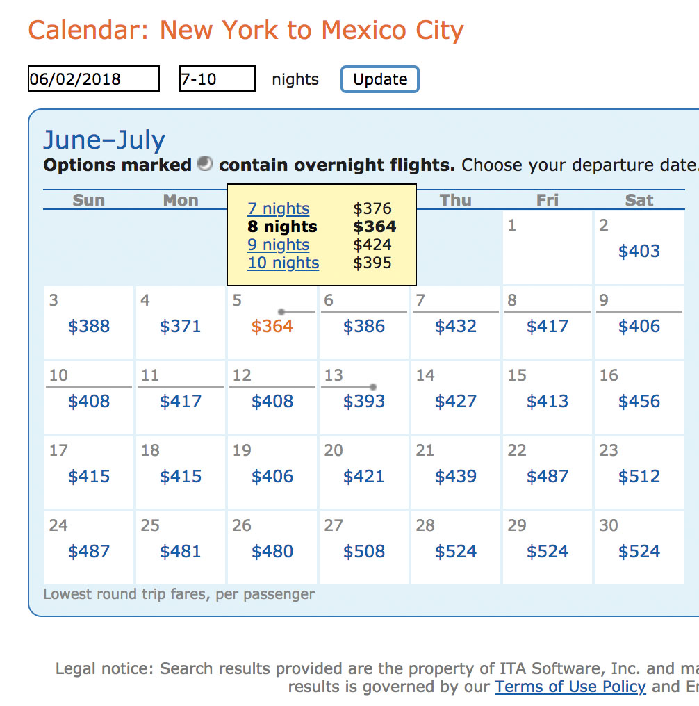 free flights searching ita matrix affordable flights