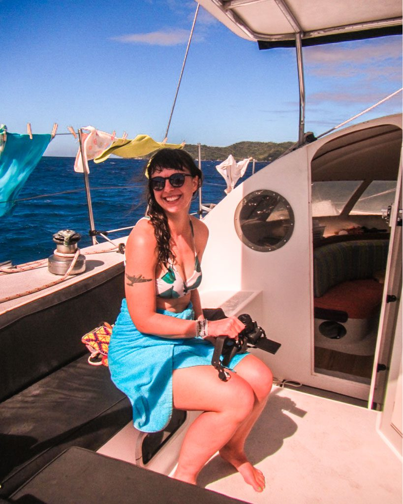 catamaran tour from roatan