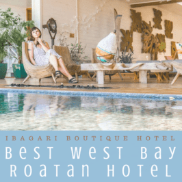 The Best West Bay Roatan Hotel: Artistic + Secluded Ibagari Boutique Hotel