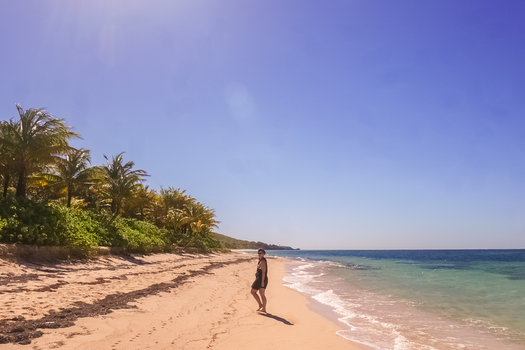 roatan honduras beach camp bay