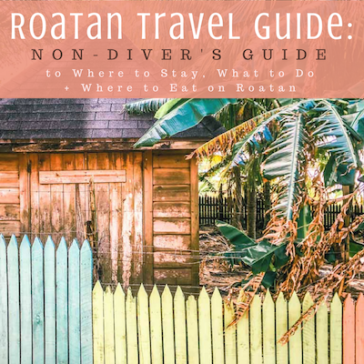 Roatan Travel Guide: Non-Diver's Guide for Where to Stay, What to Do + Where to Eat on Roatan Island