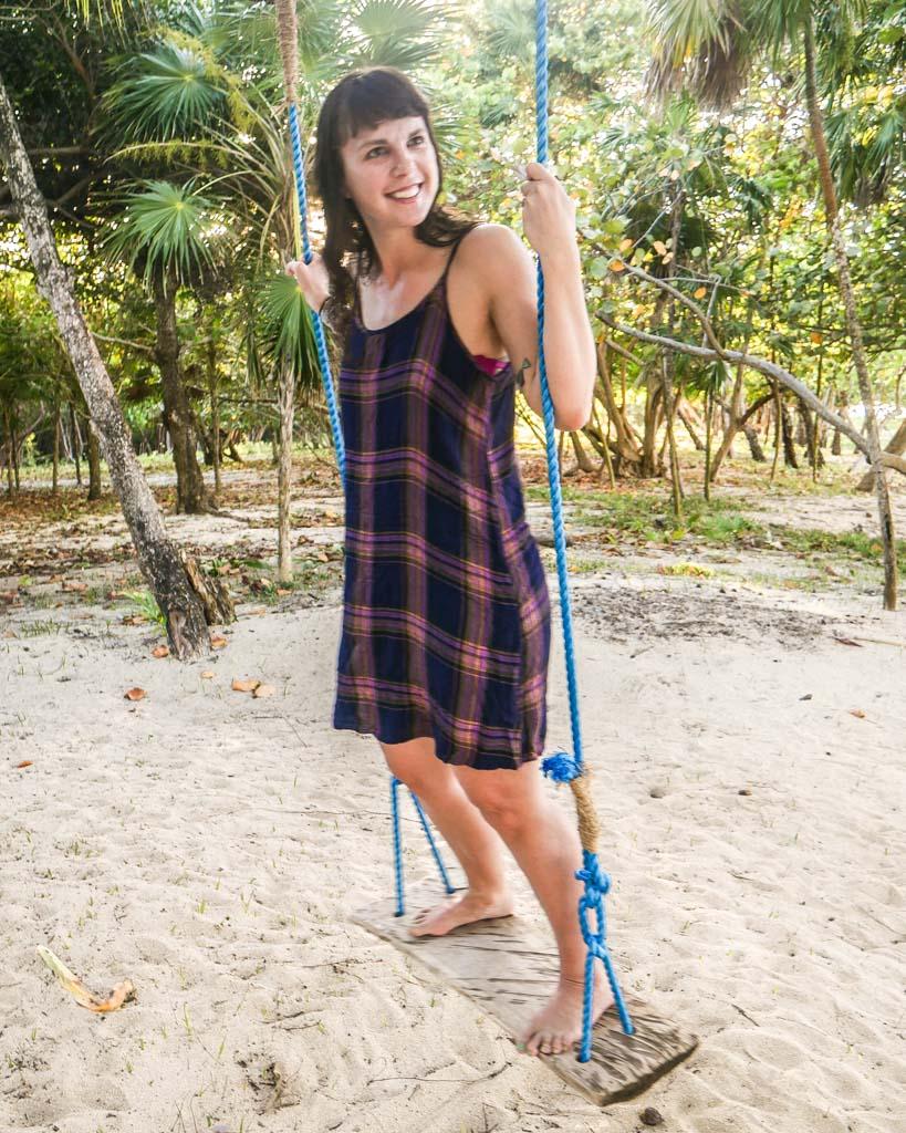 swing at camp bay lodge