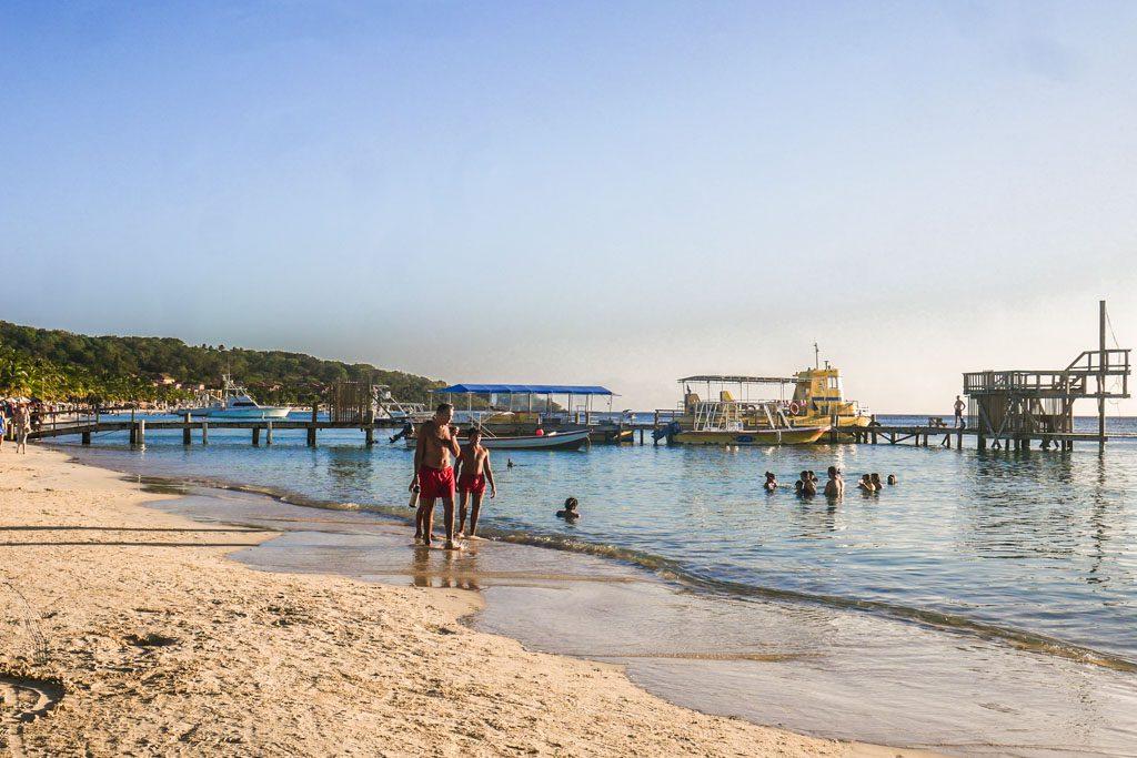 west bay beach roatan travel