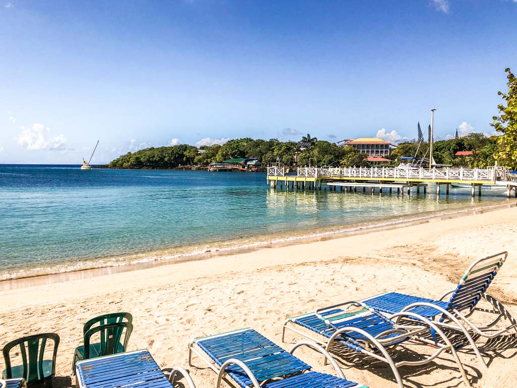 west end beach roatan