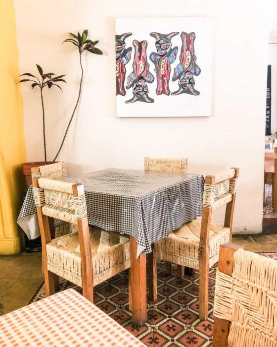 cabuche oaxaca dining room