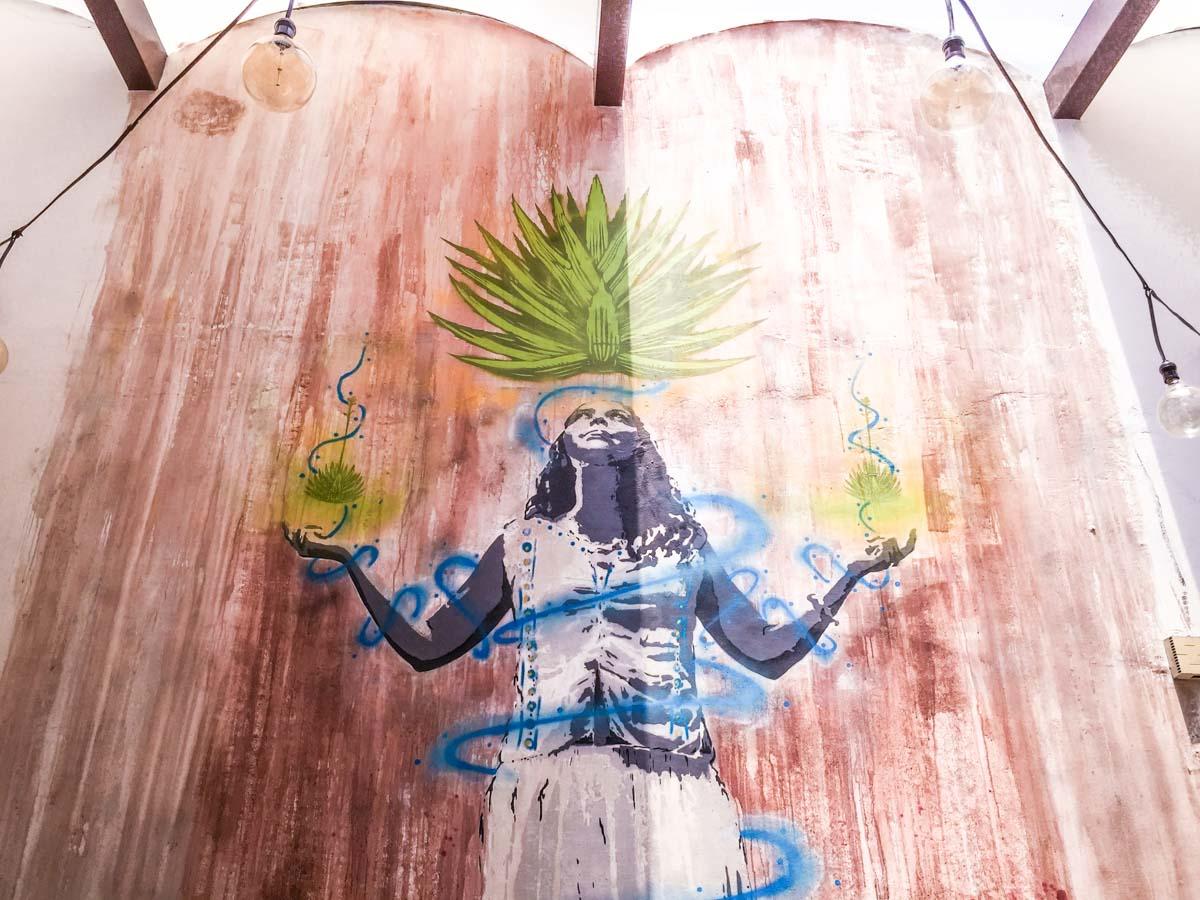 el destilado mural oaxaca