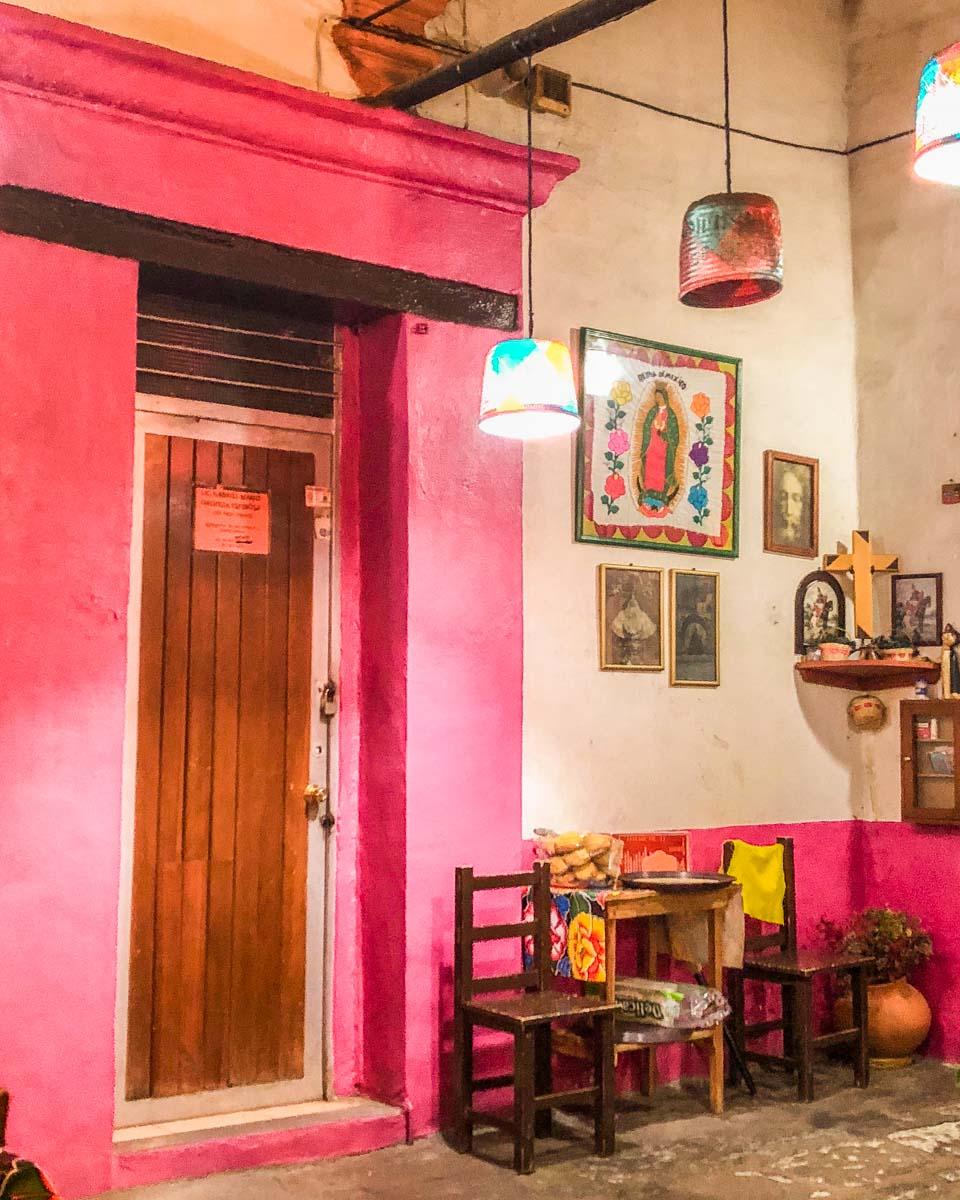 best restaurants in oaxaca tlayudas las animas