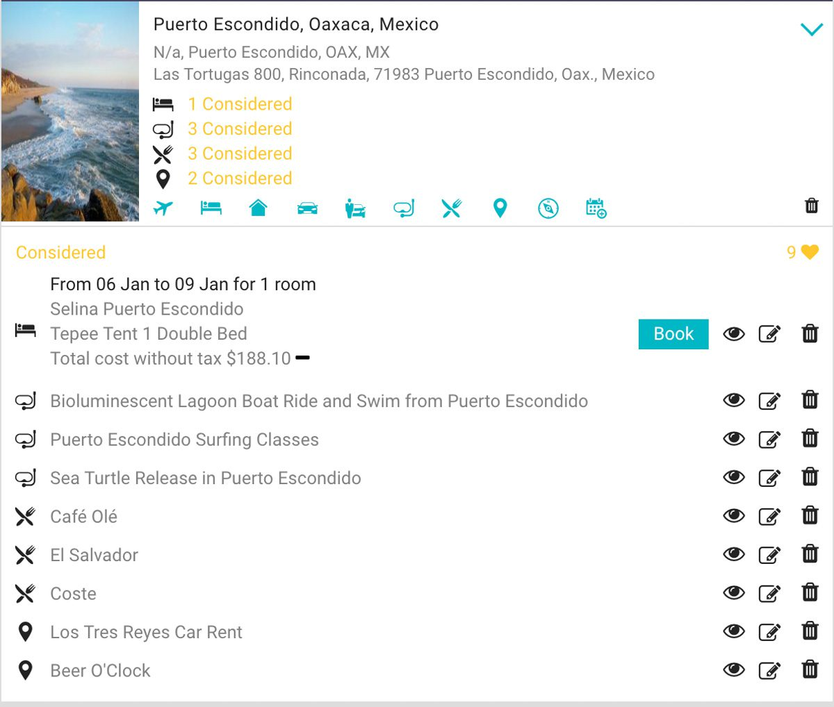 considered options relovate trip planning toolLR