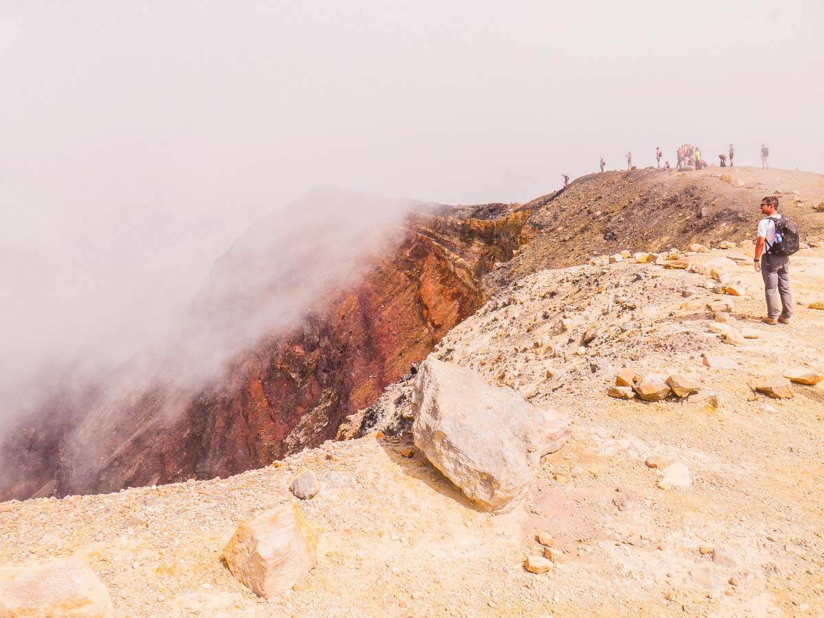 el salvador travel volcan santa ana hiking crater