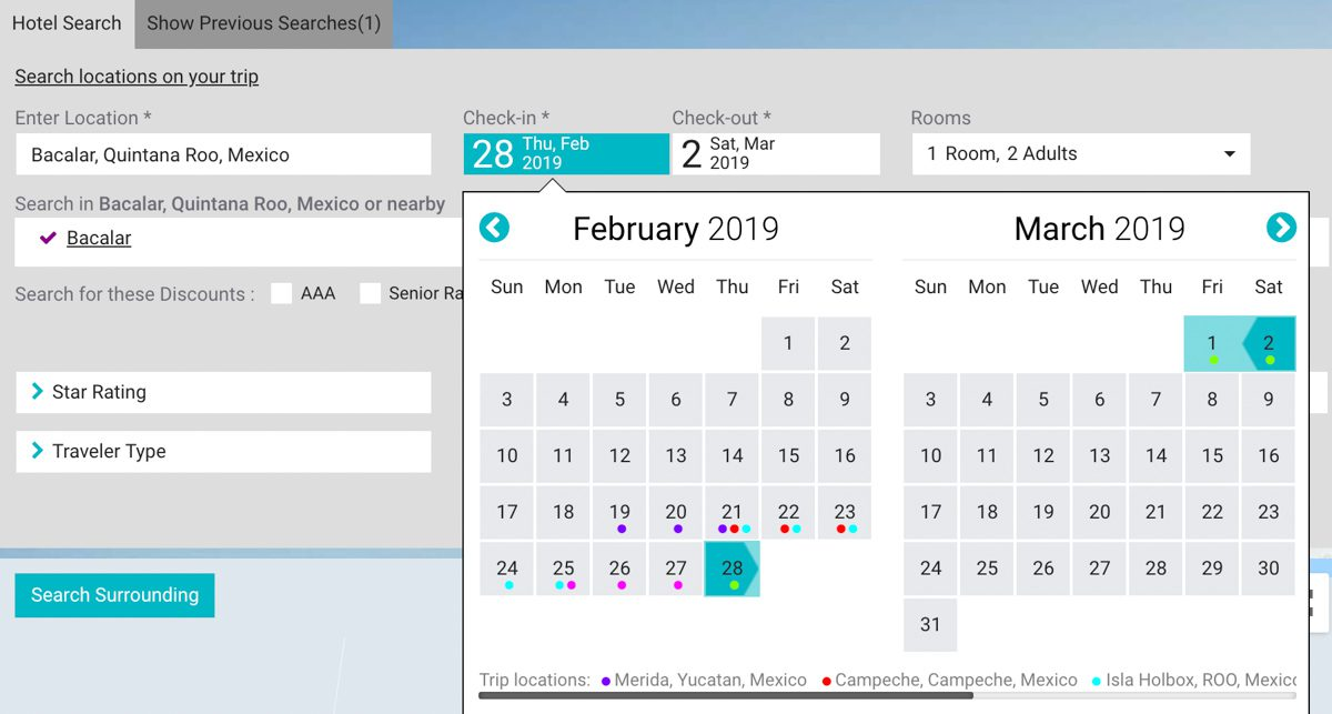 flight search itinerary planner relovate