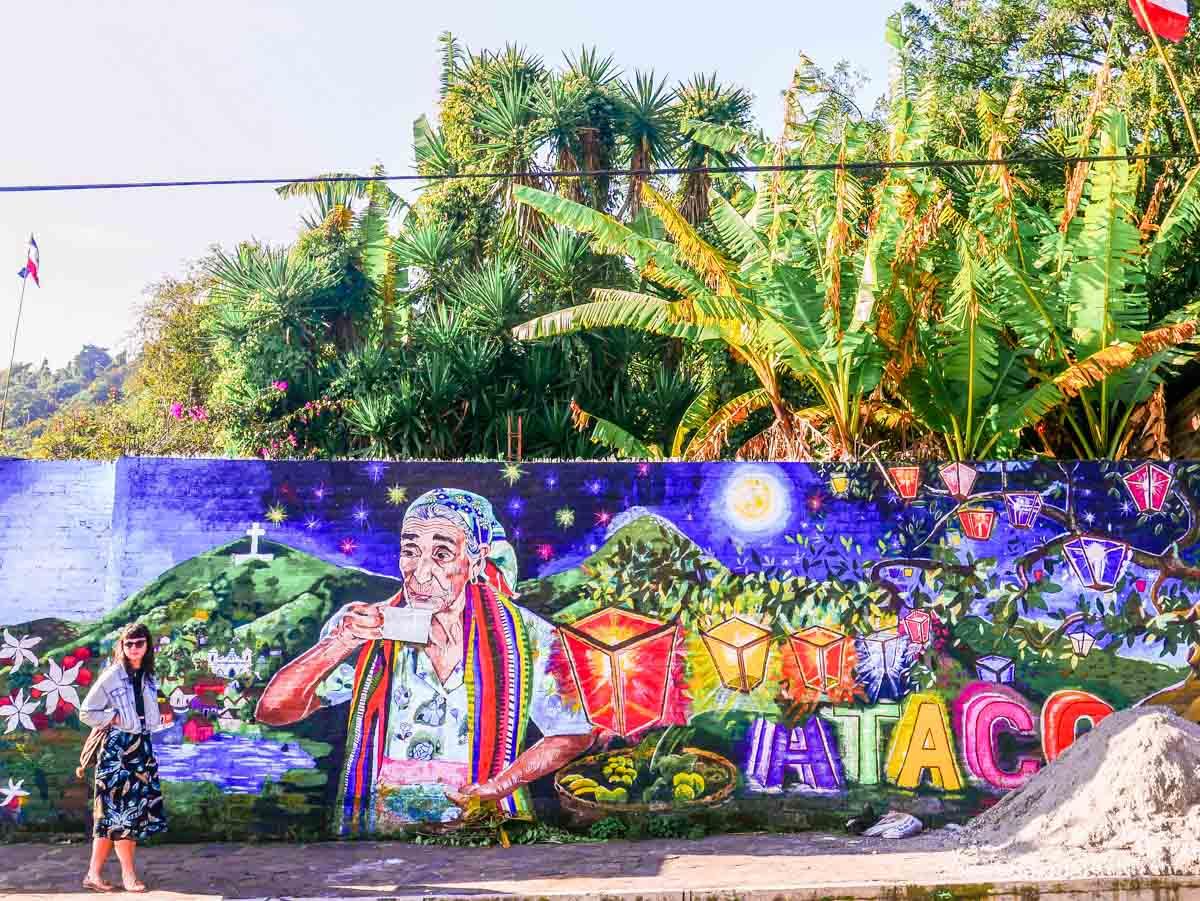 things to do in el salvador ataco murals