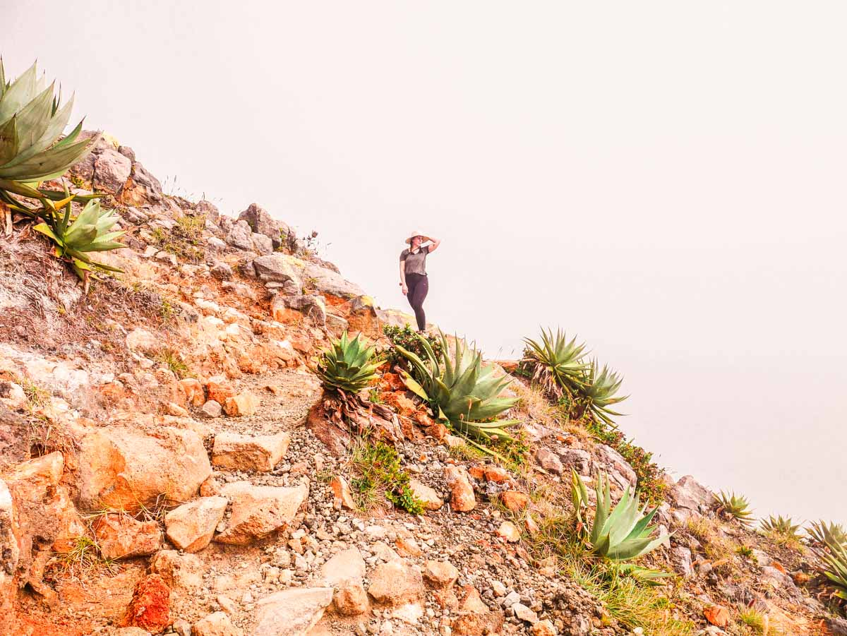 volcan santa ana hiking el salvador