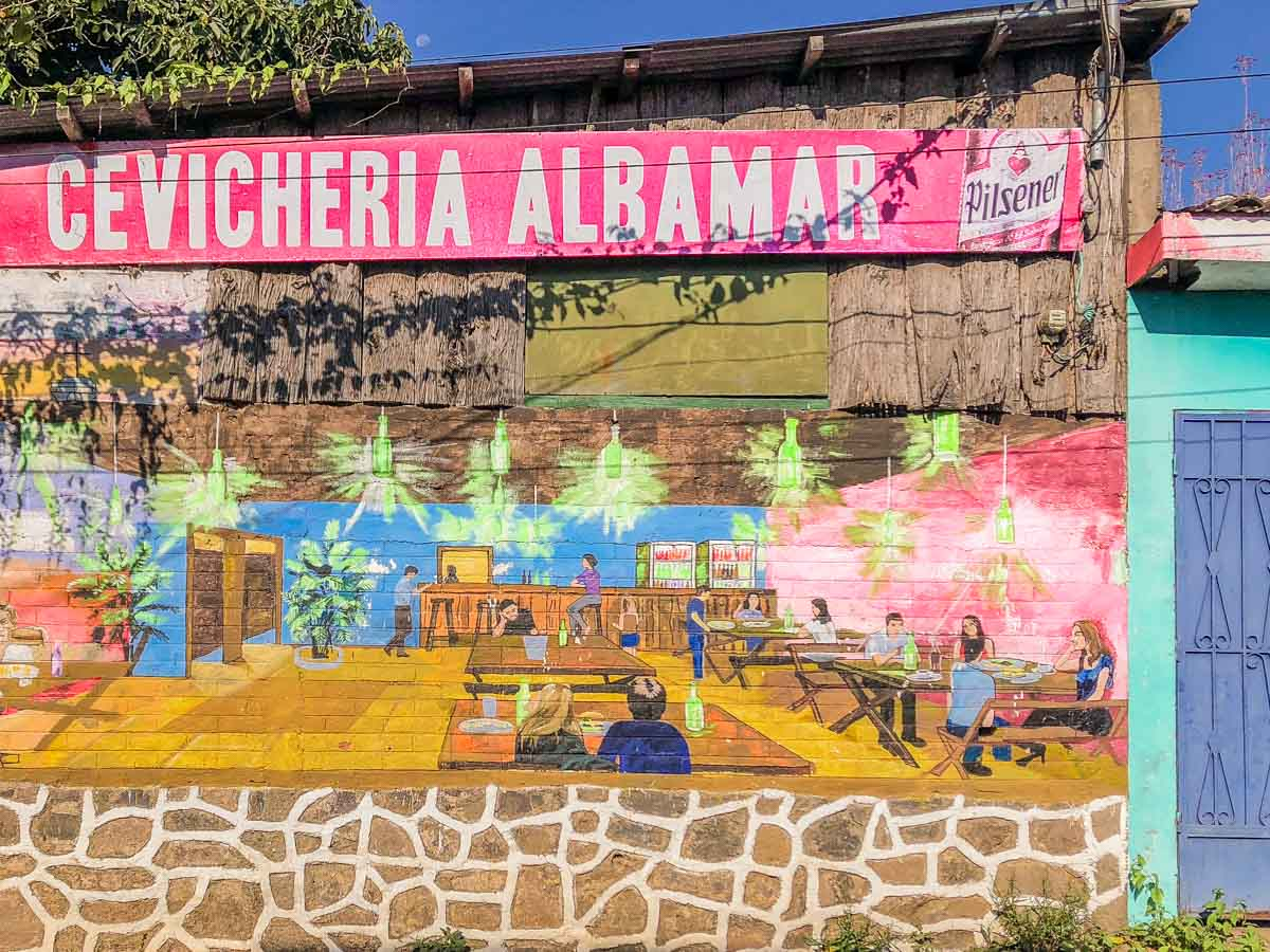 what to do in el salvador ataco murals