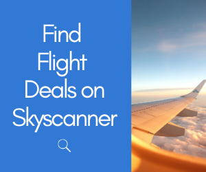 Copy of find flight deals on skyscanner