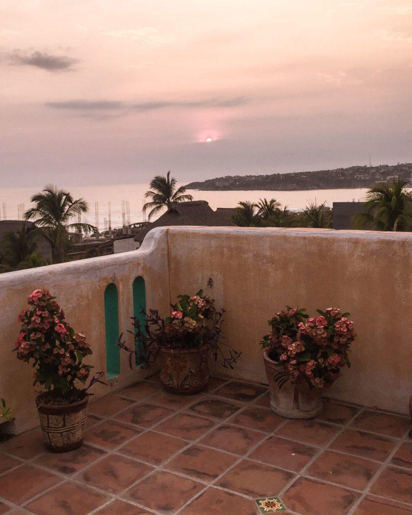 casa mandala roof terrace puerto escondido hotel zicatela