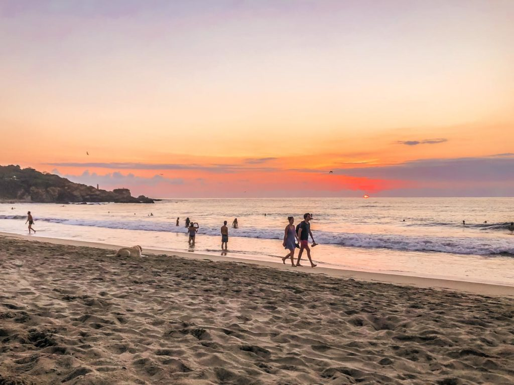 la punta puerto escondido things to do sunset