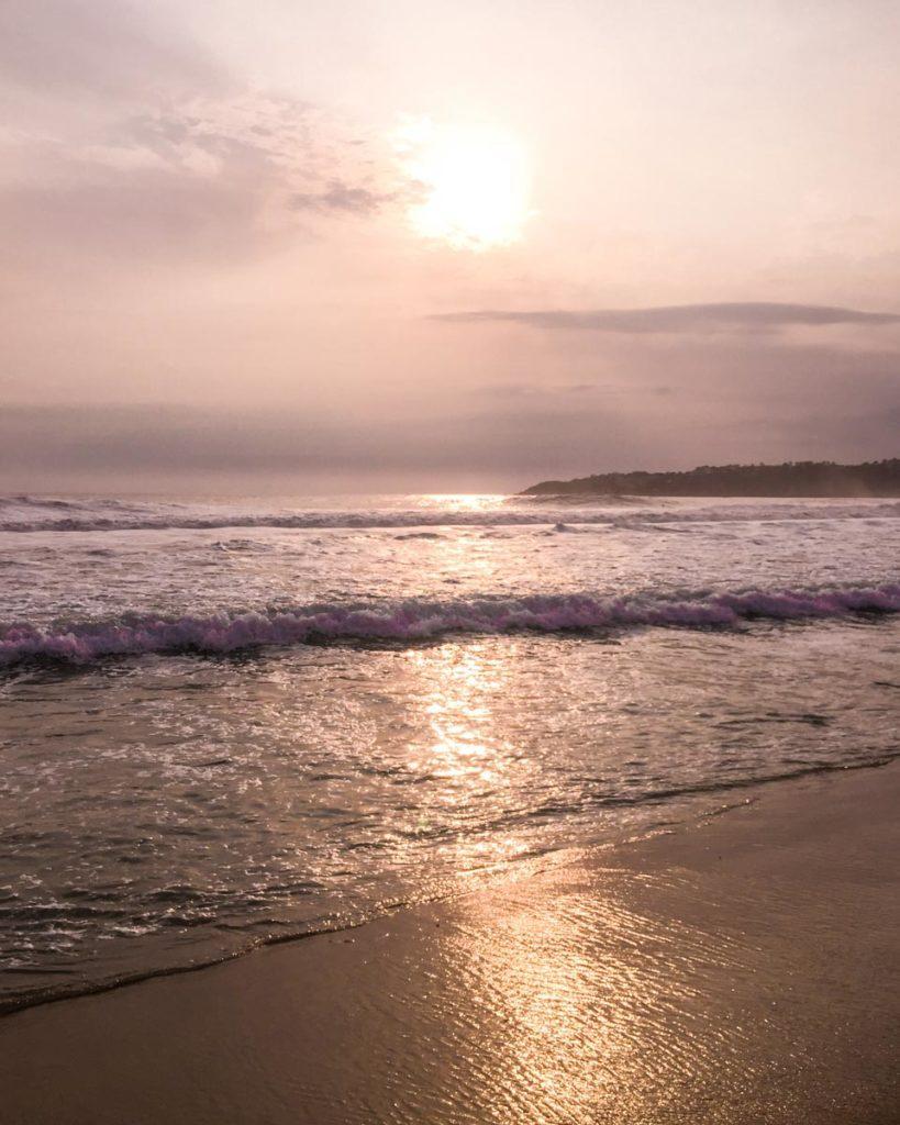 puerto escondido sunset zicatela