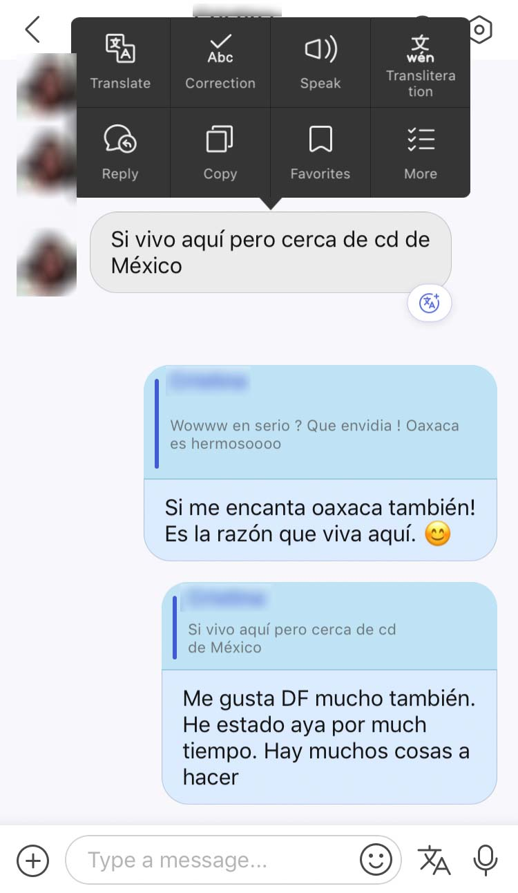 spanish language exchange chat app hellotalk - Brooklyn