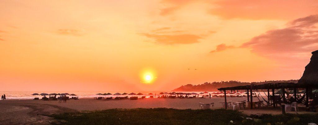 things to do in puerto escondido sunset zicatela