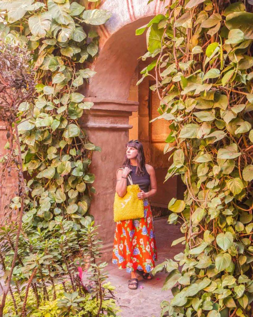 travel tote colorful convent oaxaca