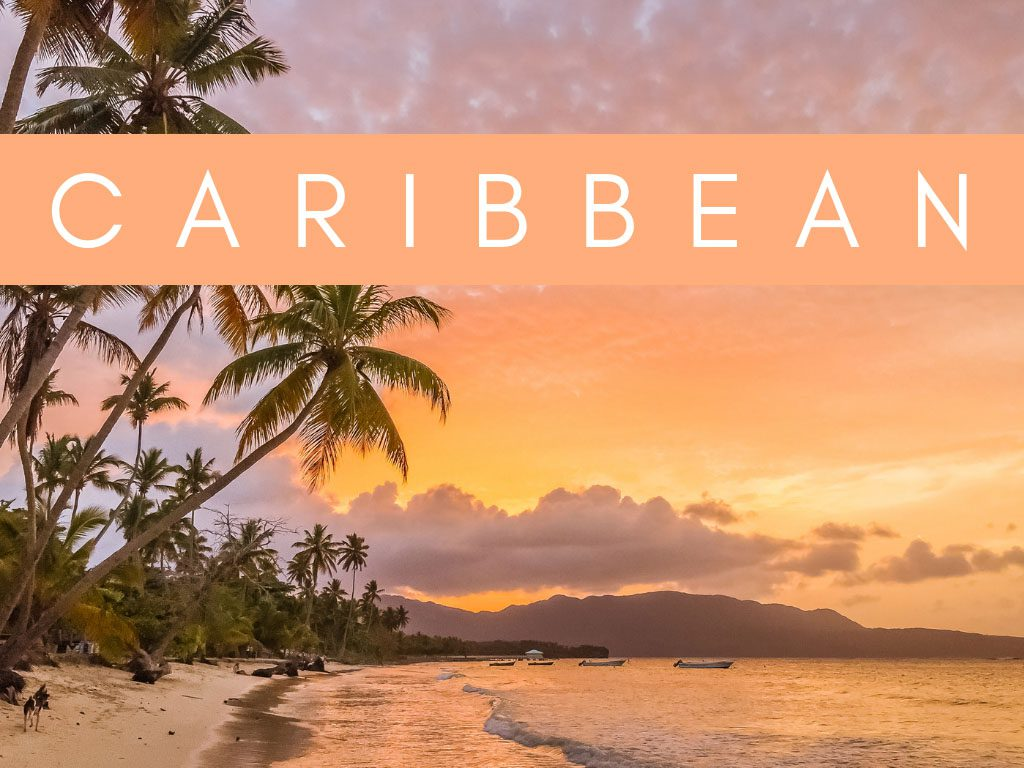 home page graphics - regions caribbean