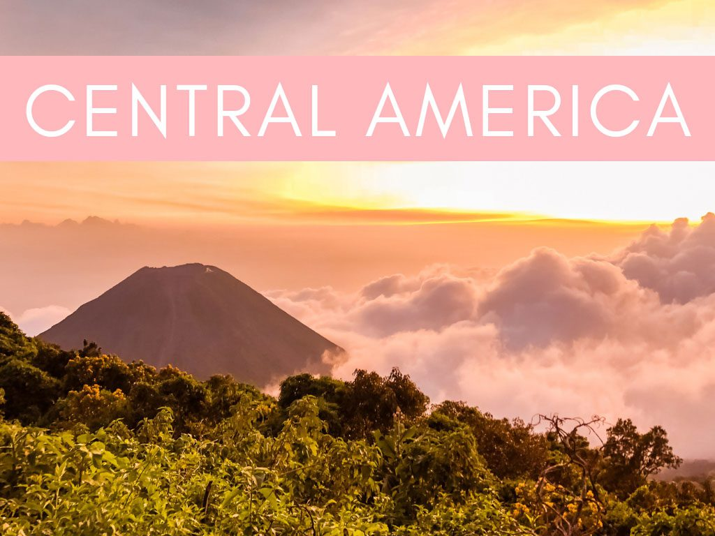 home page graphics - regions central america