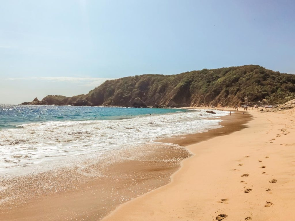 best beaches in oaxaca mazunte