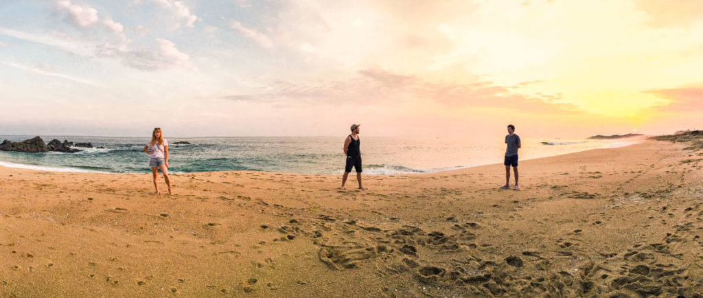 oaxaca coast huatulco bay