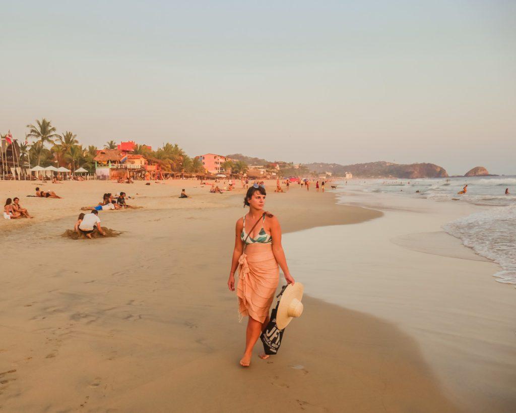 oaxaca coast zipolite beach