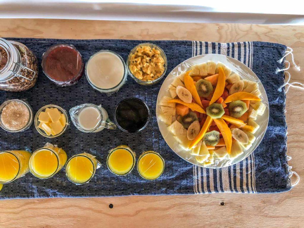 san agustinillo hotel included breakfast